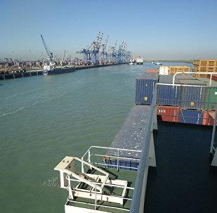Cargo terminal of Mundra Port