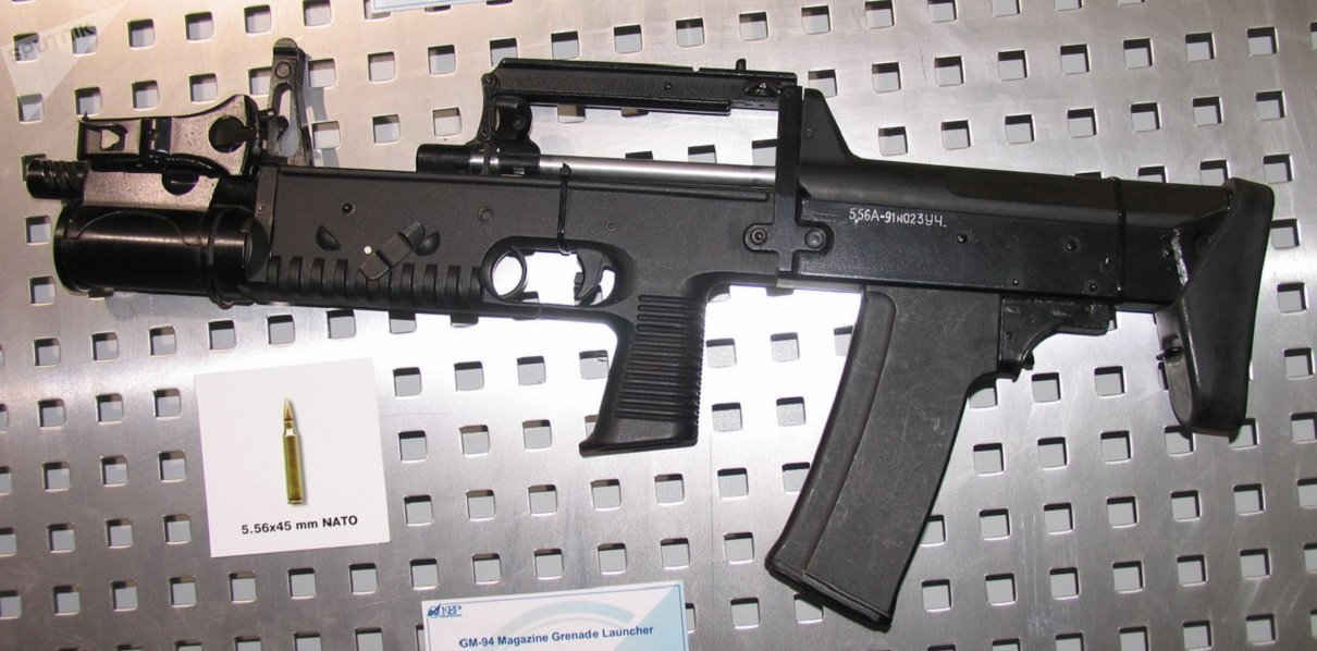 5,56 mm A-91 assault rifle