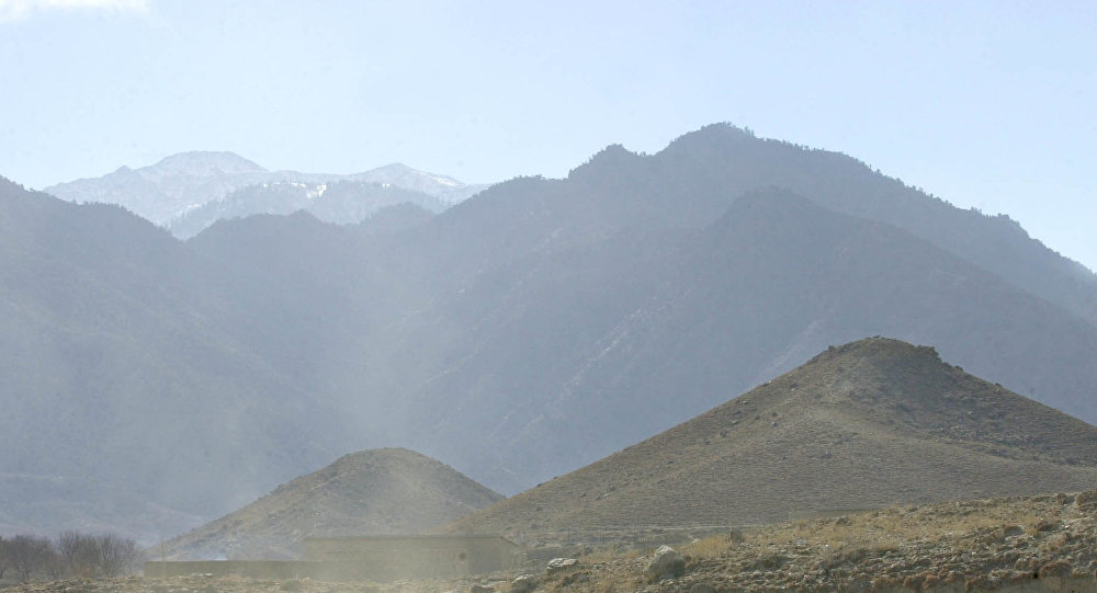 Village of Madakhel in northeastern Afghanistan, near the mountain region of Tora Bora. (File)