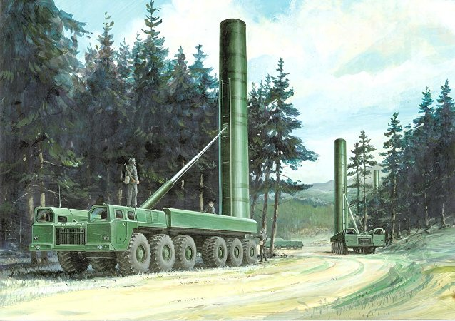 The Soviets deployed hundreds of mobile, SS-20 intermediate force missile launchers in the 1980s--with three nuclear warheads on each missile and reloads for each launcher