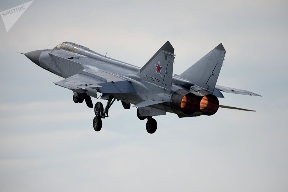 MiG-31 fighter-interceptor jet