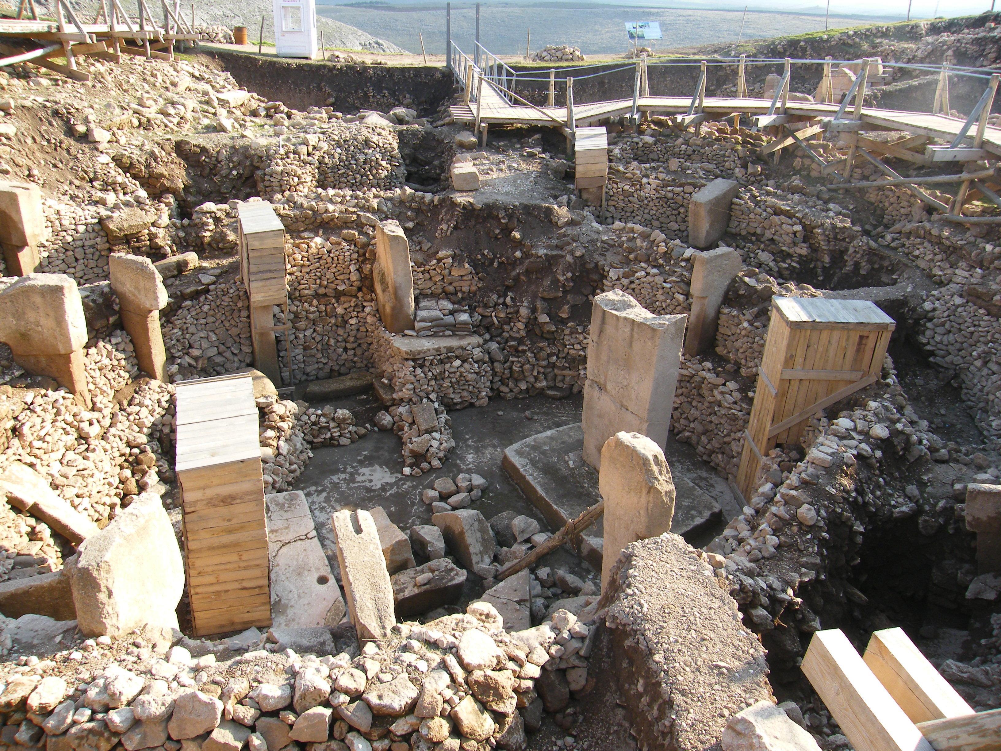 Göbekli Tepe site