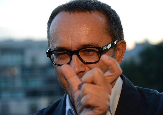 Russian filmmaker Andrei Zvyagintsev