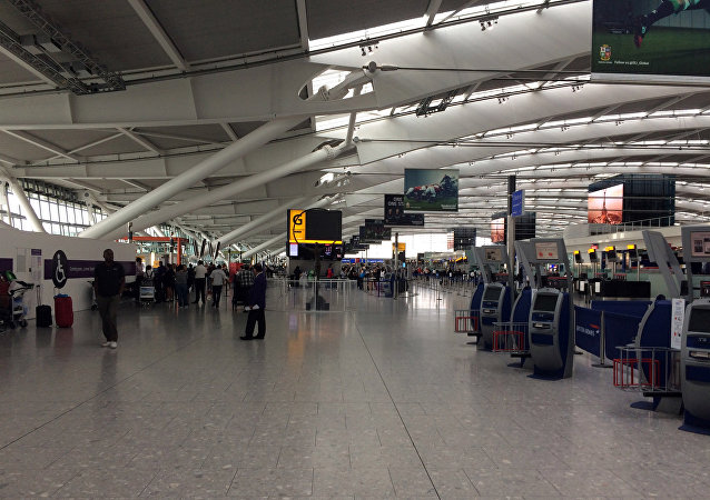 Heathrow airport terminal. (File)