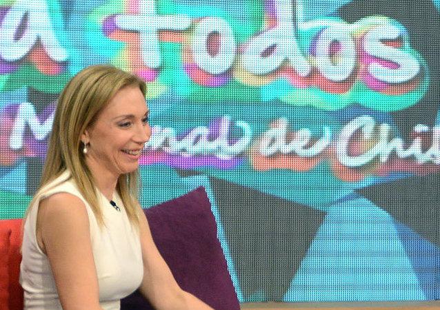 Chile journalist Karen Doggenweiler. (File)