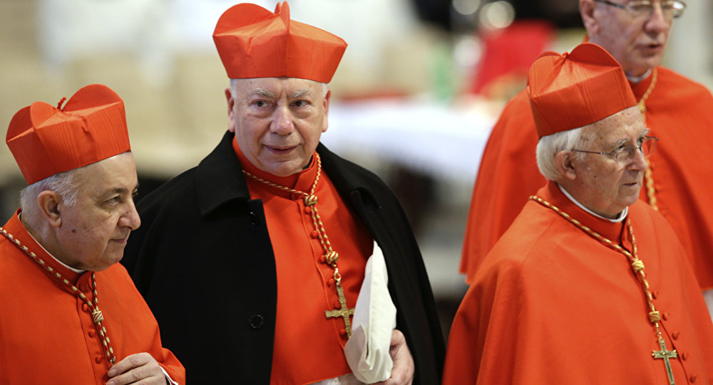 Vatican scandal: Police raid drug-fuelled gay orgy at cardinal's apartment