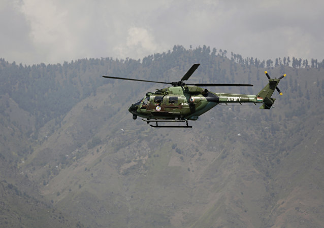 File Photo of India Military Chopper