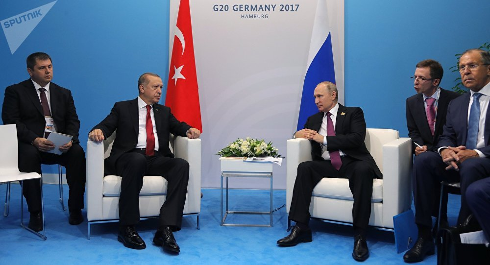 Turkish president critical of Germany ahead of G20