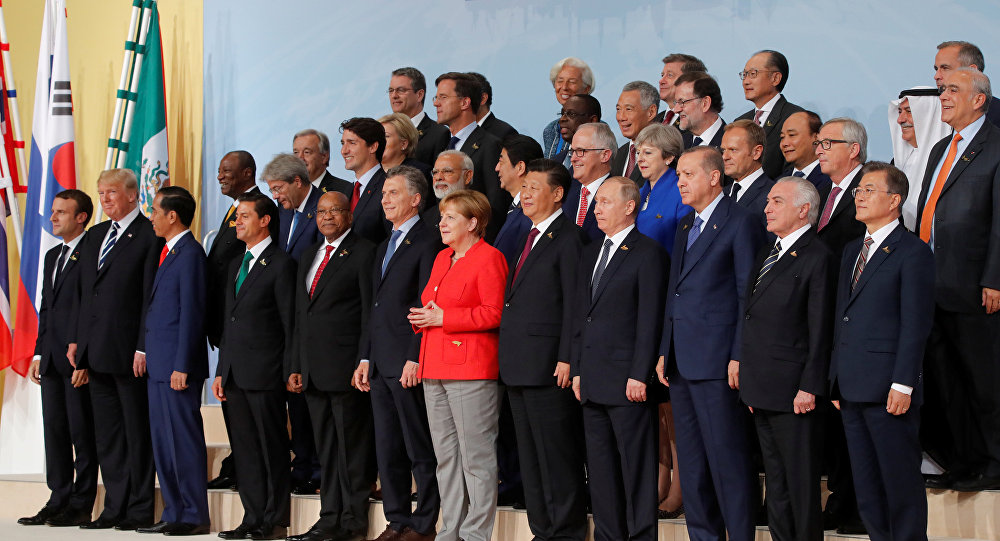 G20 leaders summit in Hamburg