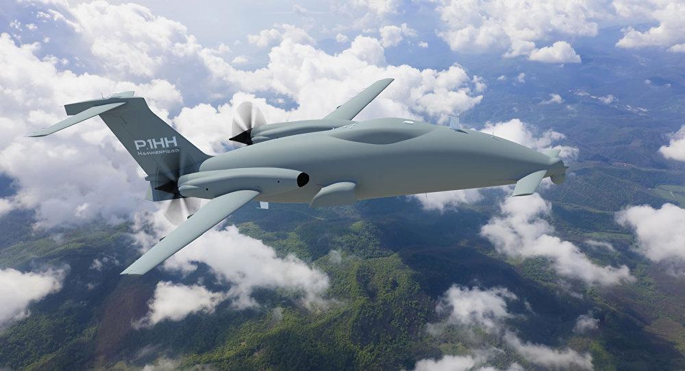 piaggio aerospace resumes test flights of hammerhead uav - sputnik
