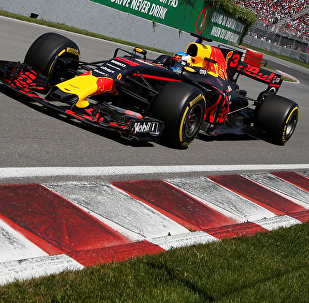 Formula One - F1 - Canadian Grand Prix - Montreal, Quebec, Canada - 11/06/2017 - Red Bull's Daniel Ricciardo in action during the race.
