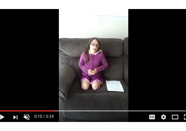 11-year-old Emily Pooler asks the internet for a replacement kidney, from a July 6 Youtube post