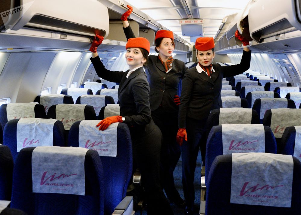 Gracious Sky 'Fairies': Flight Attendants Mark Their Professional Holiday