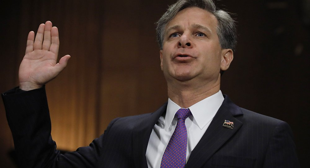 Trump Pick To Lead The FBI Faces Senate Confirmation