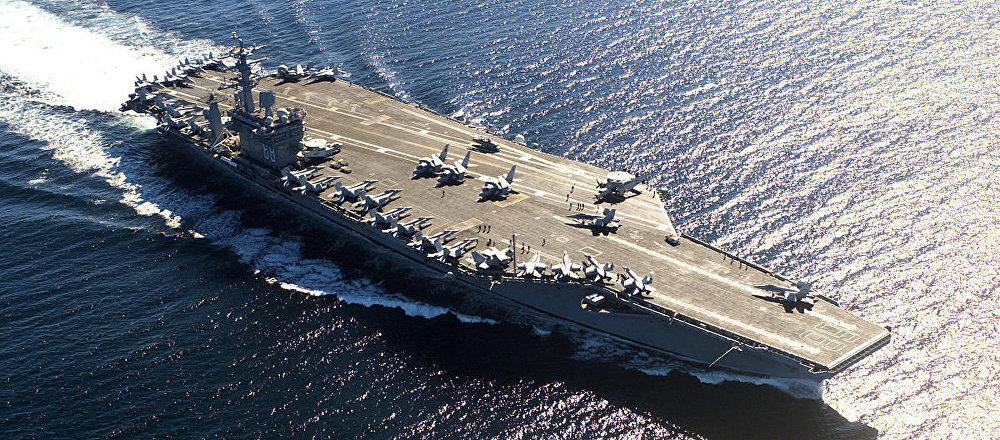 USS Nimitz (CVN-68), a US Navy aircraft carrier