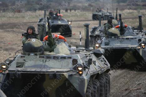 Zapad 2009 strategic exercises held at the Khmelyovka firing range