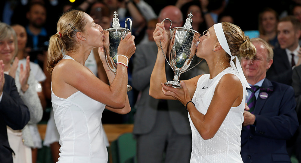 Russian Tennis Players Vesnina, Makarova Win Career First...