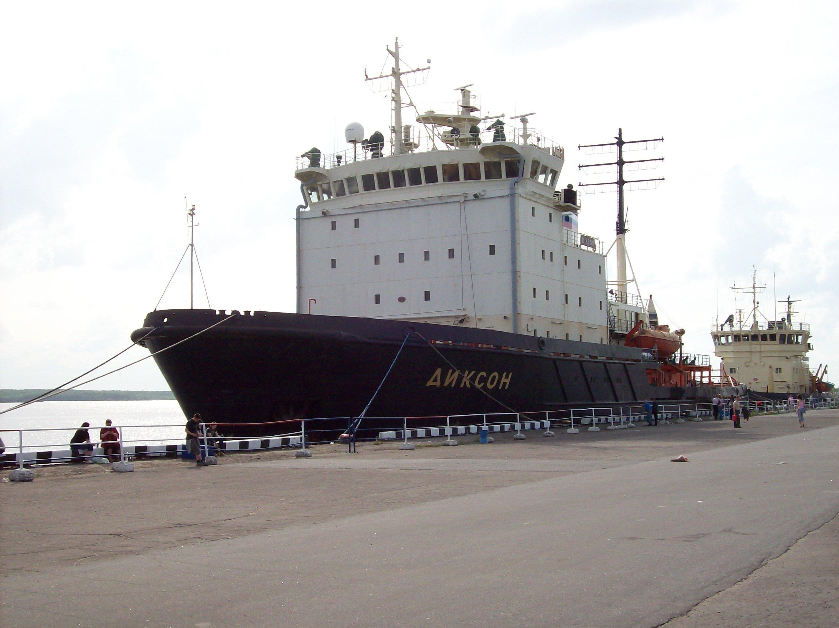 The Dixon diesel icebreaker