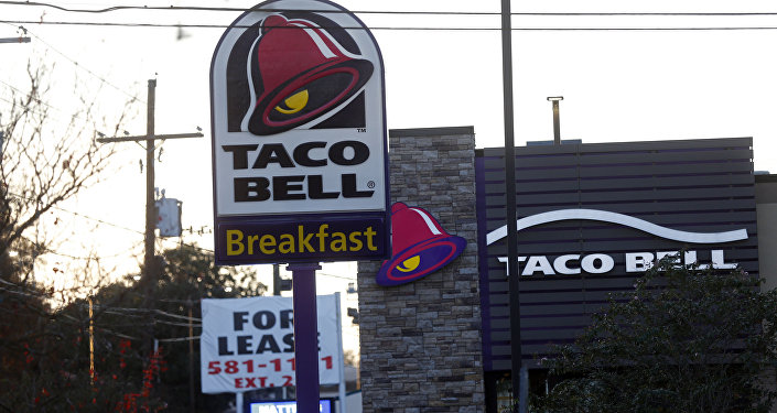 This Thursday, Dec. 15, 2016, photo shows a Taco Bell restaurant in Metairie, La.