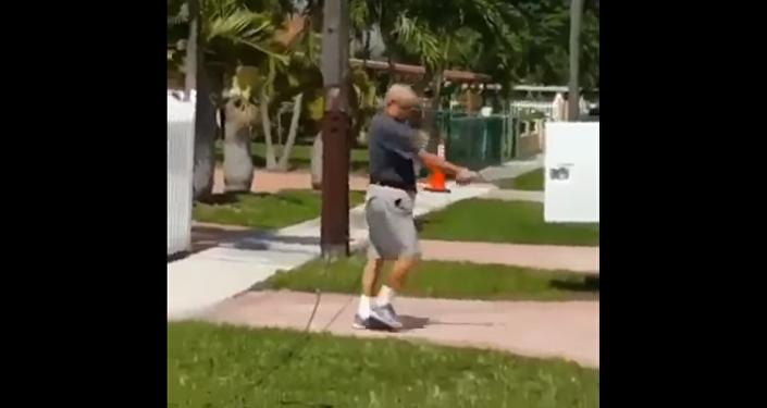 Florida Man Shoots Utility Trucks Outside His Home