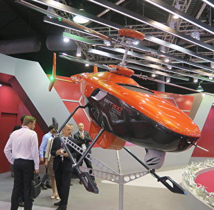 The VRT300 unmanned helicopter-type vehicle