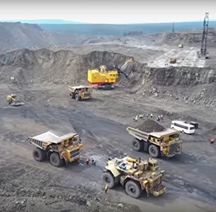 Stunning View of One of Russia's Biggest Coking Coal Mines