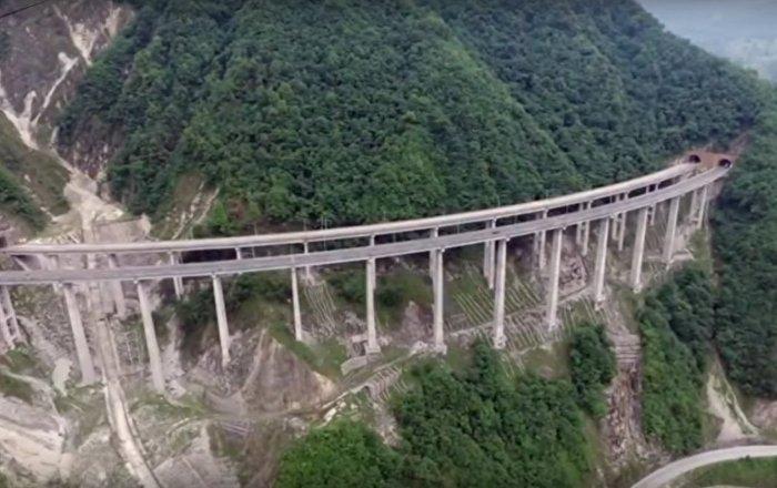 Check Out The World's Longest Concrete Tubular Bridge