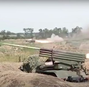 Artillery Trained in Russia's Rostov Region