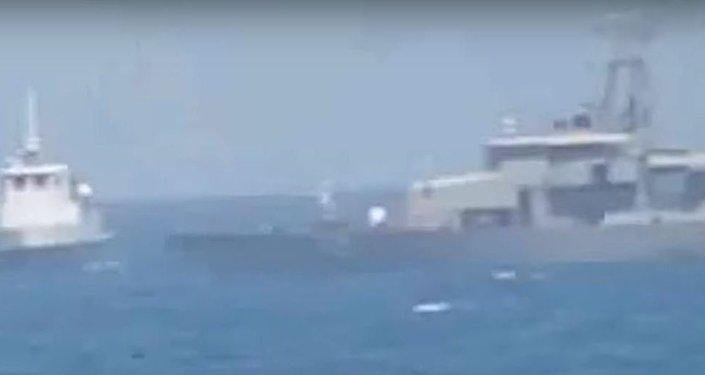 Iranian Vessel Intercepts US patrol boat