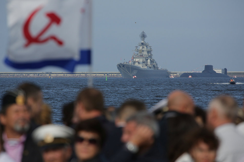 Here Come the Warships! Russia Celebrates 2017 Navy Day