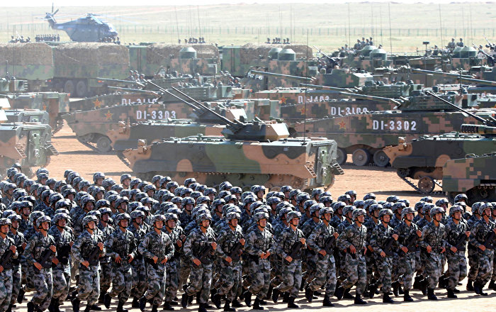 We're Back: China Resumes Military Buildup in Disputed ...
