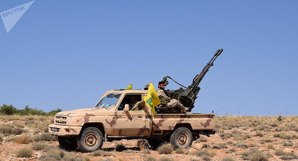 Hezbollah in Jaroud Aarsal