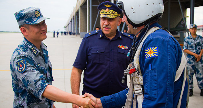 Russian-Chinese air force cooperation