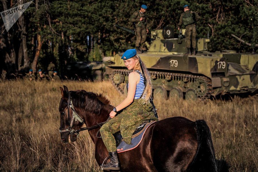 Cadets of the Ryazan Airborne School