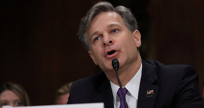 Christopher Wray testifies before a Senate Judiciary Committee confirmation hearing on his nomination to be the next FBI director on Capitol Hill in Washington, U.S., July 12, 2017