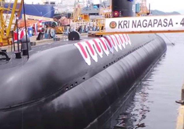 Indonesian Navy's KRI Nagpasa Submarine