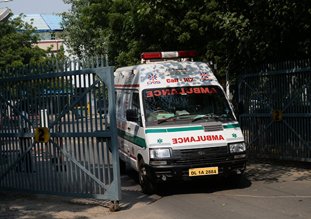India ambulance. (File)