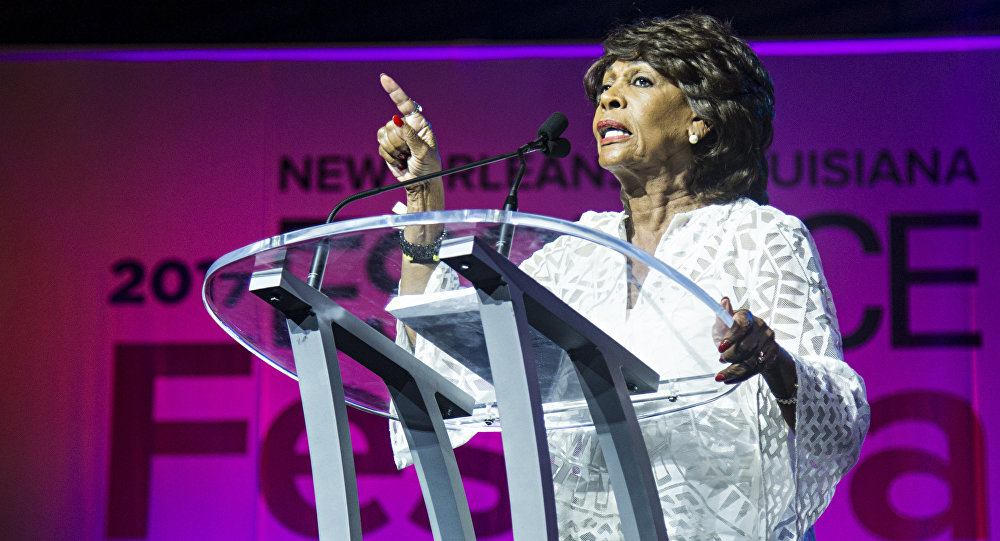 Congresswoman Maxine Waters seen at the ESSENCE Empowerment Experience at Ernest N. Morial Convention Center on Saturday, July 1, 2017, in New Orleans