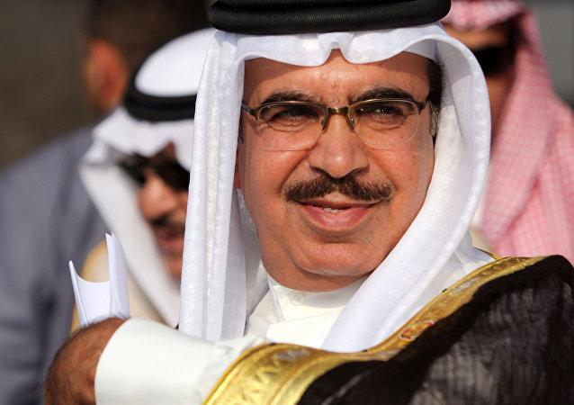 Bahraini Interior Minister Sheik Rashid bin Abdullah Al Khalifa (File)