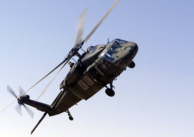 UH-60 Blackhawk helicopter of the Saudi-led Arab coalition. (File)