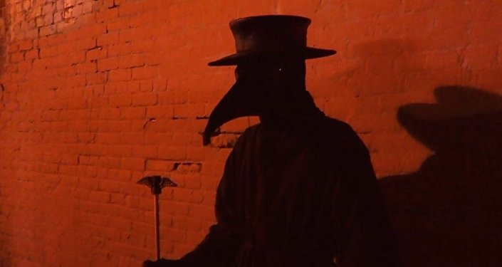 Plague Doctor Scare Prank