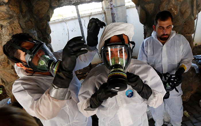 Syrian Foreign Ministry Accuses US, UK of Supplying Toxic Agents to Terrorists