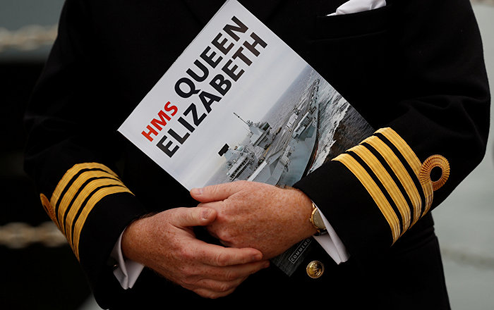 HMS Queen Elizabeth Arrives in Home Port But Still Can't