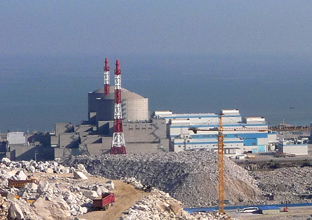 First construction phase of Tianwan Nuclear Power Plant, Unit one and two.