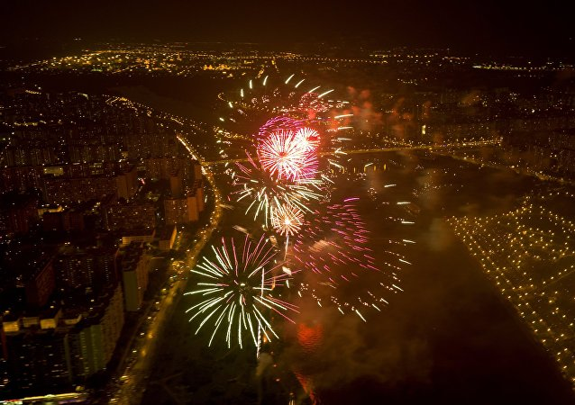 Rostec International Fireworks Festival. File photo