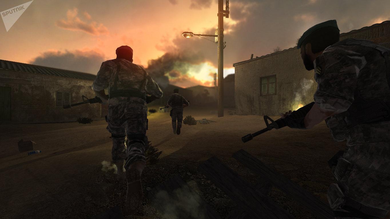 Fighting in Aden Gulf