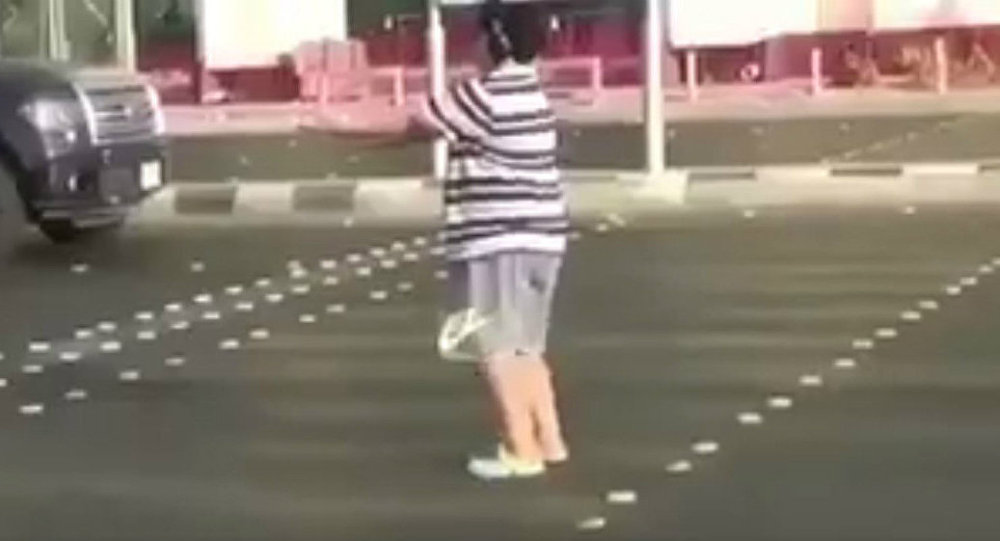 Saudi police detain teenage boy for dancing in the street