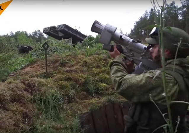 Russian Airborne Troops Conducted Military Exercises