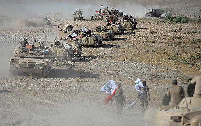 Run Daesh Run Iraqi Militia Just 2 kilometers Away From
