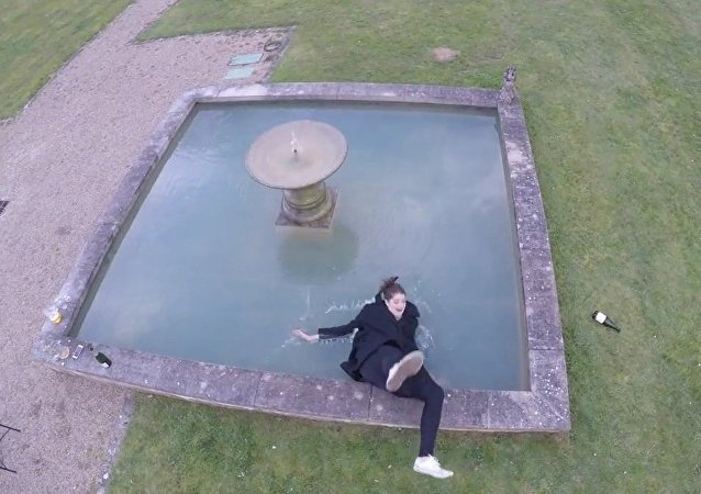 Drone Funny Footage Fail